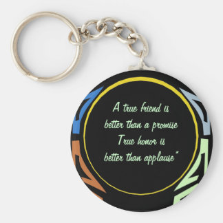 Better Than A Promise Quoted Keychain