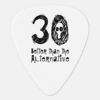Better Than Alternative 30th Funny Birthday Q30A Guitar Pick