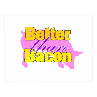 Better than Bacon Postcard