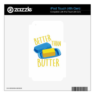 Better Than Butter iPod Touch 4G Skin