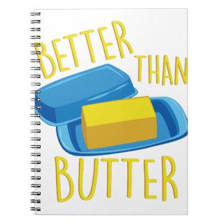 Better Than Butter Notebook