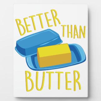 Better Than Butter Plaque