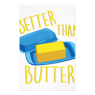 Better Than Butter Stationery