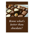 better than chocolate sweet funny valentine card