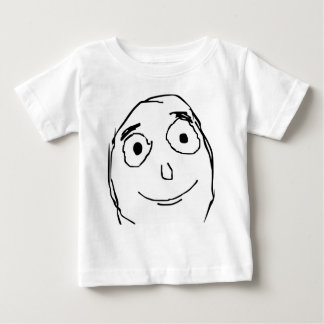 Better Than Expected Rage Face Meme Baby T-Shirt