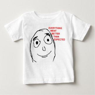 Better Than Expected Rage Face Meme Shirt