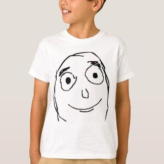 Better Than Expected Rage Face Meme T-Shirt