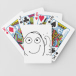 better than expected thumbs up poker cards