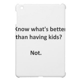 Better than kids #1 iPad mini case