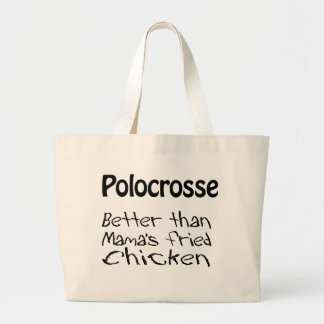 Better than Mama's Fried Chicken Large Tote Bag