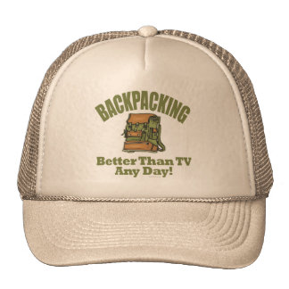 Better Than TV - Backpacking Hats