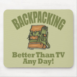 Better Than TV - Backpacking Mouse Pad