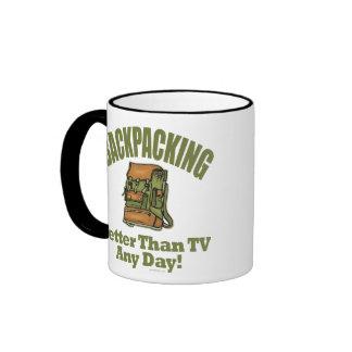 Better Than TV - Backpacking Ringer Mug