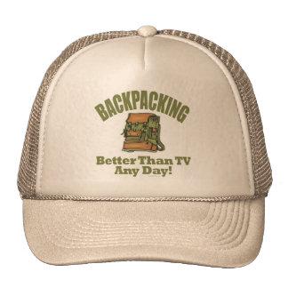 Better Than TV - Backpacking Trucker Hat