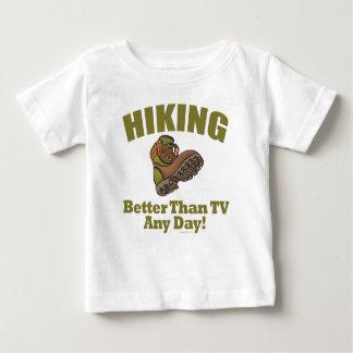 Better Than TV - Hiking Baby T-Shirt