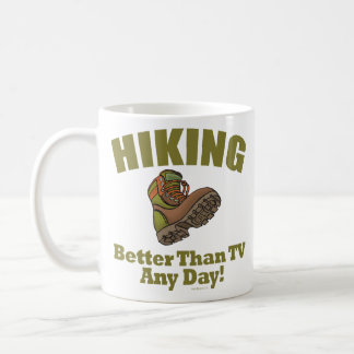 Better Than TV - Hiking Coffee Mug