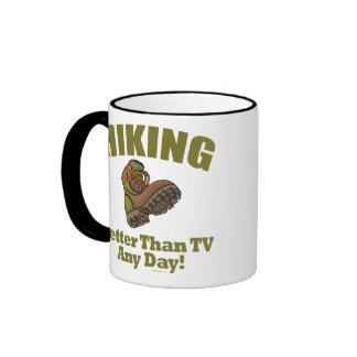 Better Than TV - Hiking Ringer Mug