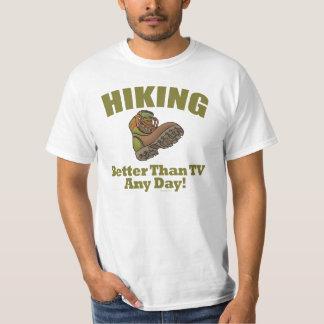 Better Than TV - Hiking T-shirt