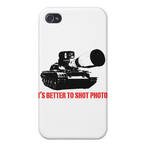 Better to shot Photos Covers For iPhone 4