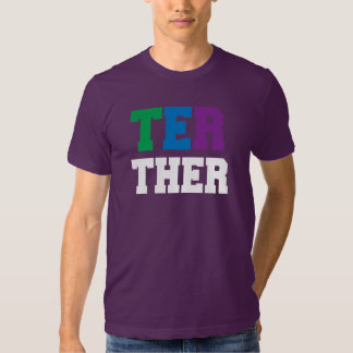 BETTER TOGETHER PRIDE RIGHT - WHITE -.png T Shirt
