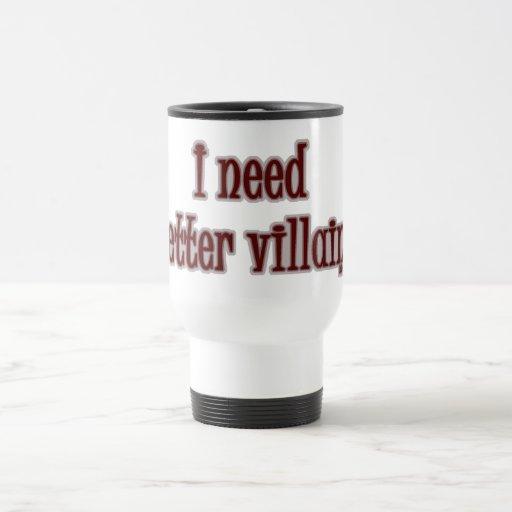 Better Villains 15 Oz Stainless Steel Travel Mug