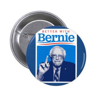 Better with Bernie Pinback Button