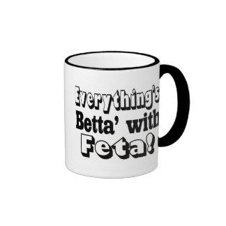 Better With Feta Ringer Mug