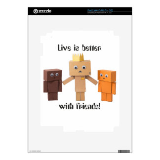 better with friends decals for the iPad 2