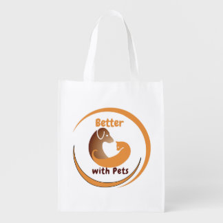 Better with Pets Grocery Bag