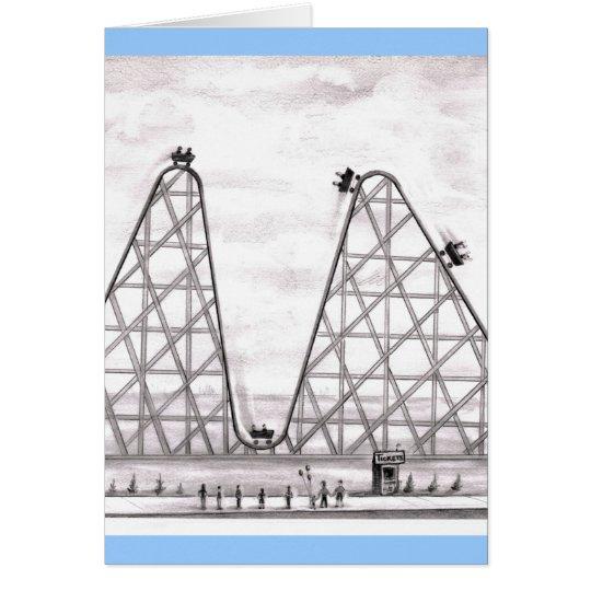 Better Worse Roller Coaster Card