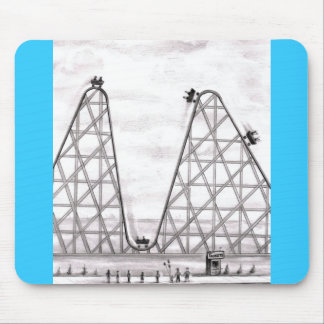 Better Worse Roller Coaster Mouse Pad