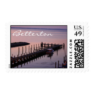 Betterton at Sunset Photography Postage Stamp