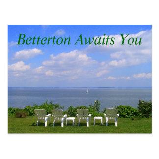 Betterton Awaits You Postcard