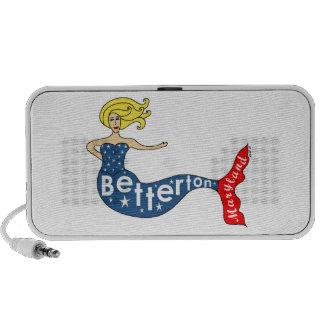 Betterton Mermaid Mp3 Speaker