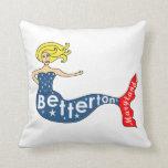 Betterton, sirena de Maryland Cojin