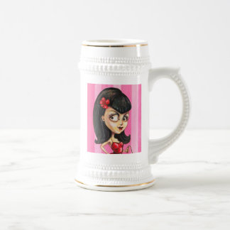 Bettie Girl Beer Stein
