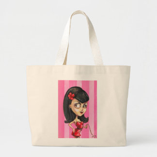 Bettie Girl Large Tote Bag