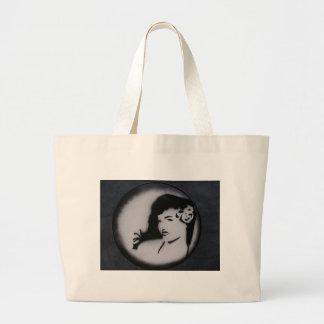 bettie page.JPG Large Tote Bag