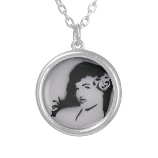 bettie page.JPG Silver Plated Necklace