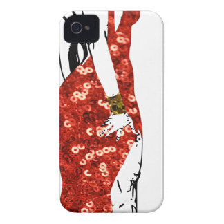 bettie pin up Case-Mate iPhone 4 case