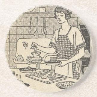 Bettina Cooking Savory Pie Coaster