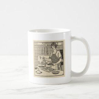 Bettina Cooking Savory Pie Coffee Mug