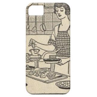 Bettina Cooking Savory Pie iPhone SE/5/5s Case