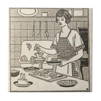 Bettina Cooking Savory Pie Tile