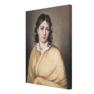 Bettina von Arnim Impresión En Lienzo