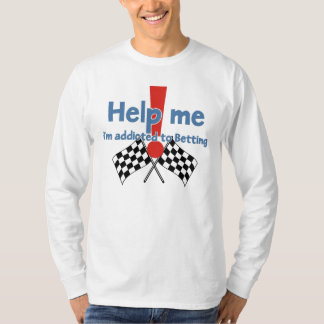 Betting Addict's long sleeve t-shirt