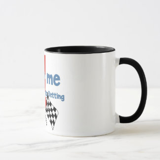 Betting Addict's ringer mug