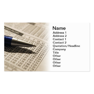 Betting Double-Sided Standard Business Cards (Pack Of 100)