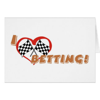 Betting greeting card
