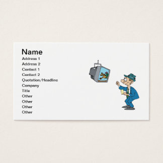 Betting Horses Business Card